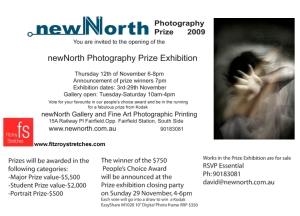 New North Photography Prize 2009