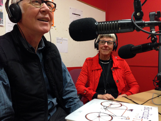 Paul & Charlie Farren on the Yarra Bike Radio Show on 3CR