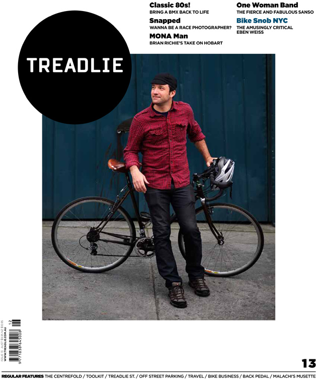 Issue 13 of Treadlie Magazine