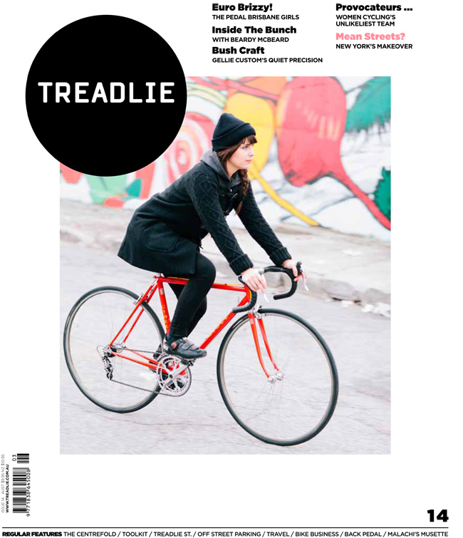 Issue 14 of Treadlie Magazine