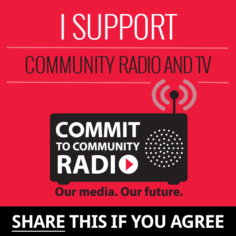 Commit to Community Radio