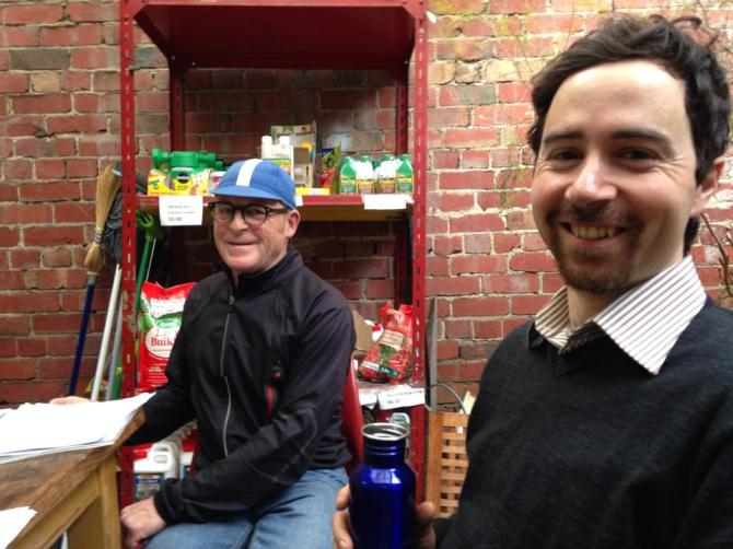 Books and bikes on the Yarra BUG Radio Show