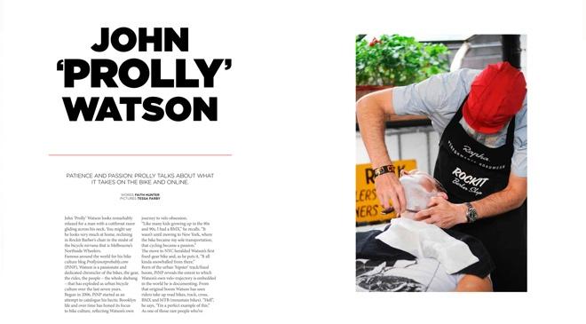 Profile: John 'Prolly' Watson