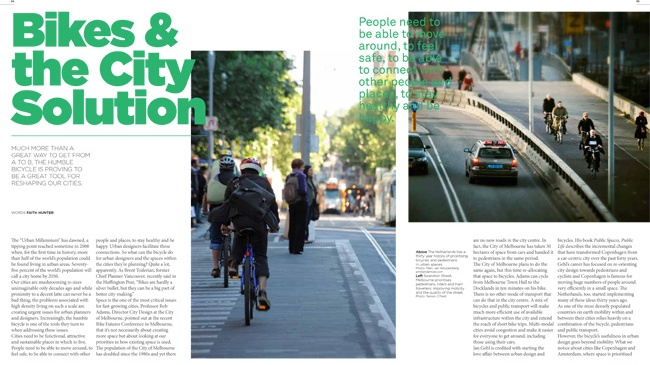 Feature: Bikes and the City Solution