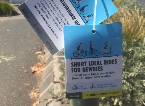 Community -building it with Neighbourly Ride