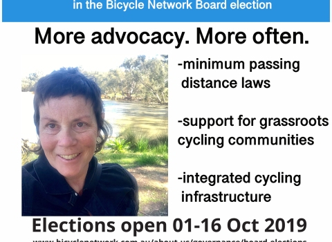 Bicycle Network Board election